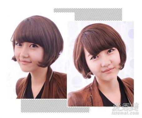 学生短发发型图片