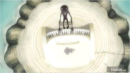 ↑图:钢琴谱