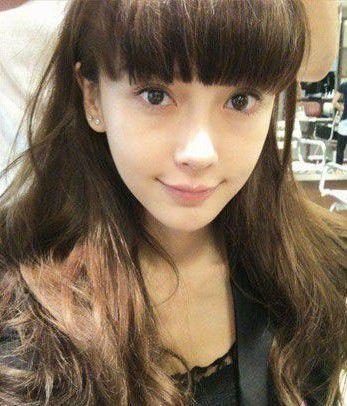 [齐刘海发型图片男]齐斜刘海发型图片女_韩国 专业发型 自己修剪齐
