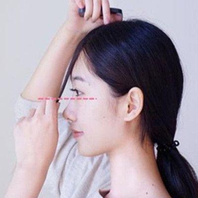 [空气刘海怎么剪图解]空气刘海怎么剪教程_闫莉---懒人空气刘海速成法
